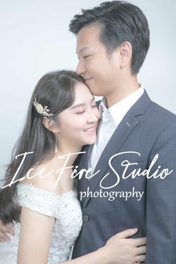 情侶相 wedding couple photography studio shoot photo by ice fire studio-16s