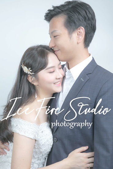 情侶相 wedding couple photography studio shoot photo by ice fire studio-16s