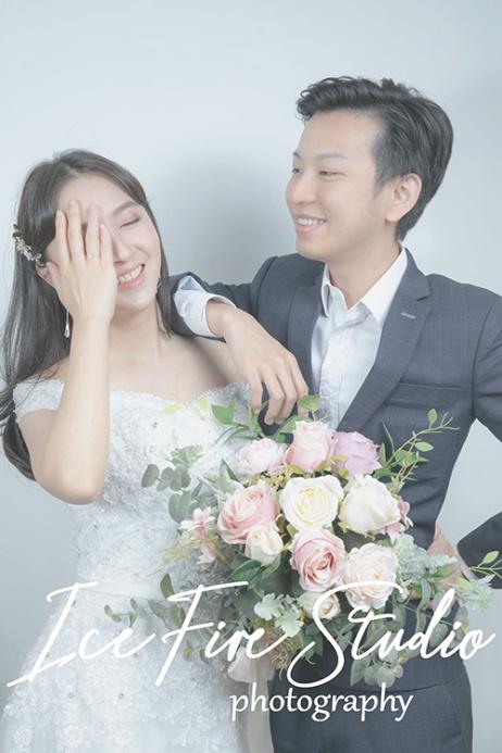 情侶相 wedding couple photography studio shoot photo by ice fire studio-18s