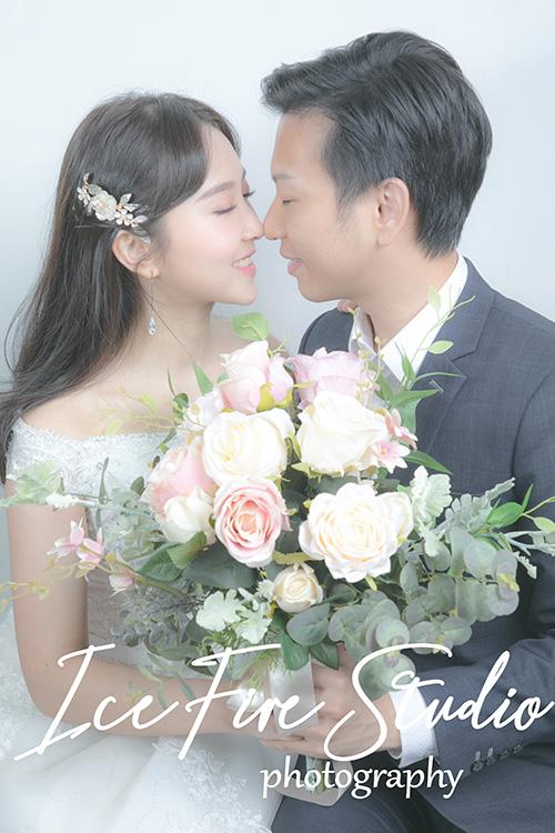 情侶相 wedding couple photography studio shoot photo by ice fire studio-19bs