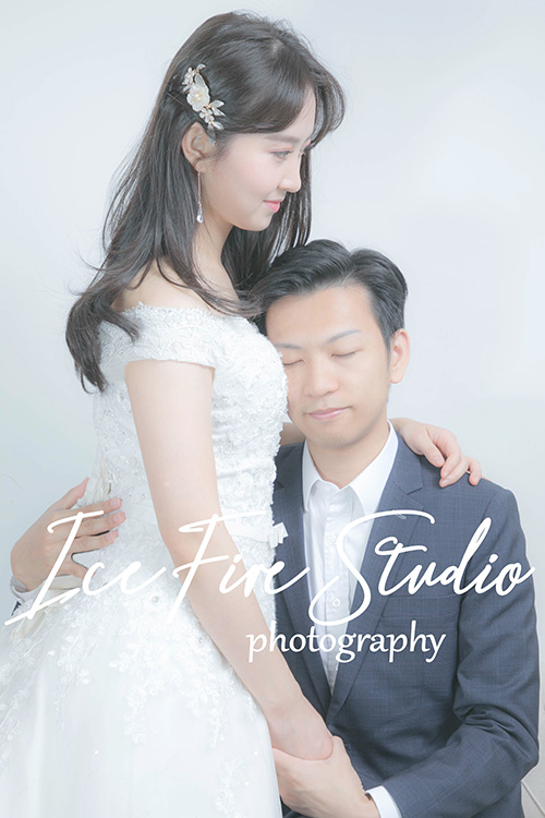 情侶相 wedding couple photography studio shoot photo by ice fire studio-7s
