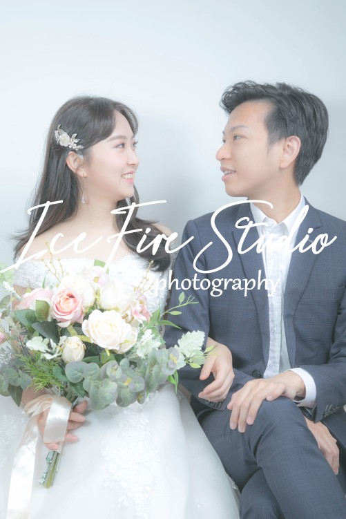 情侶相 wedding couple photography studio shoot photo by ice fire studio-8b