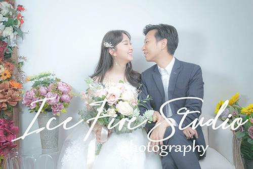 情侶相 wedding couple photography studio shoot photo by ice fire studio-9s