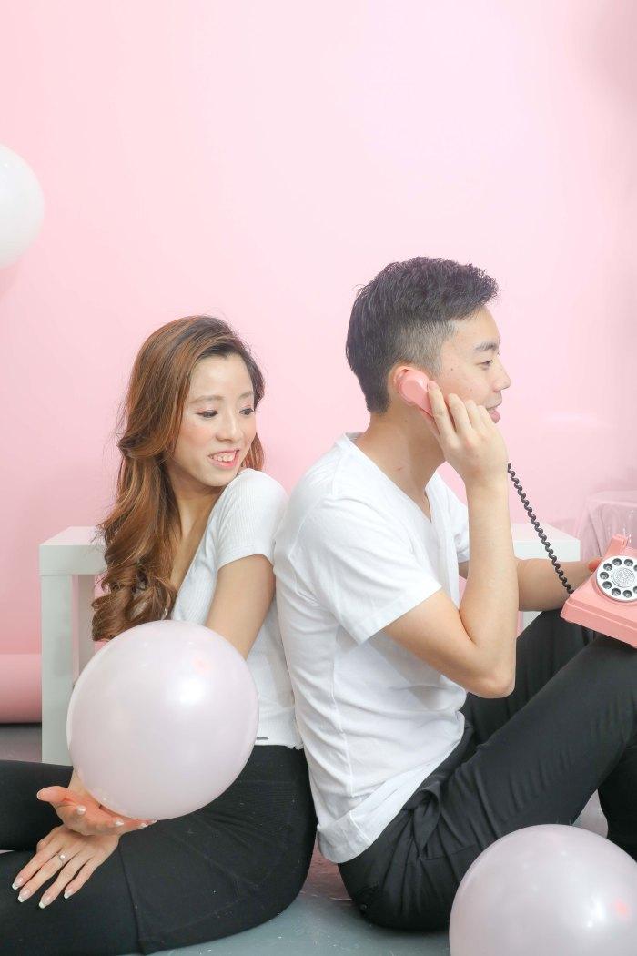 情侶相套餐收費 香港影樓輕婚紗攝影介紹 studio pre wedding hk Ice Fire Studio-69
