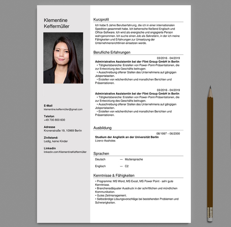 cv letter with professional photo ice fire studio hk