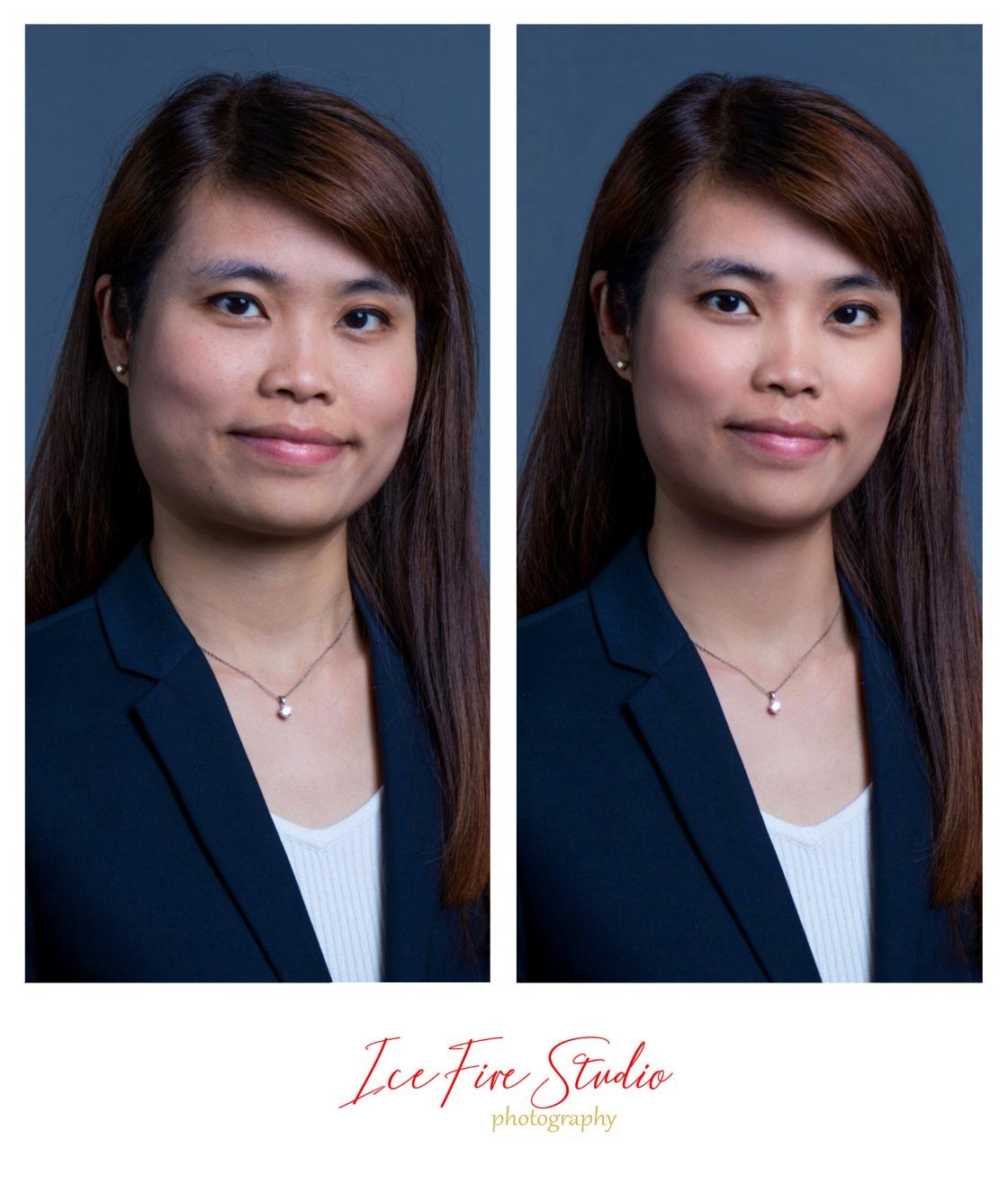 專業形象照 Headshot corproate photo hk ice fire studio