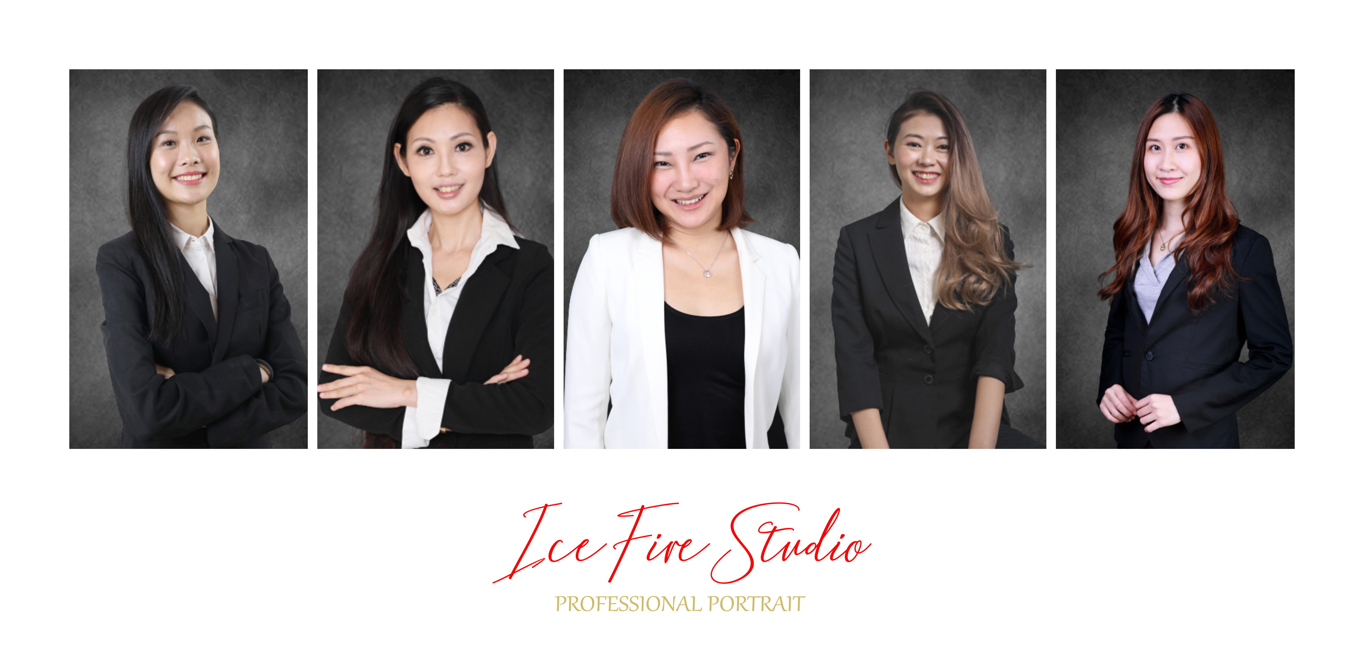 專業形象照 corporate headshot smart portrait cv photo icefire studio hong kong