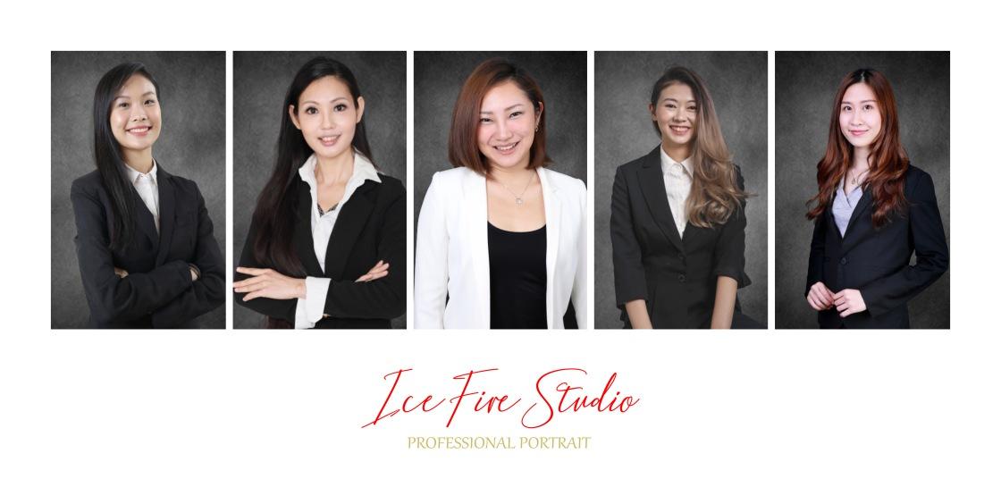 專業形象照 corporate headshot smart portrait cv photo icefire studio hong kong