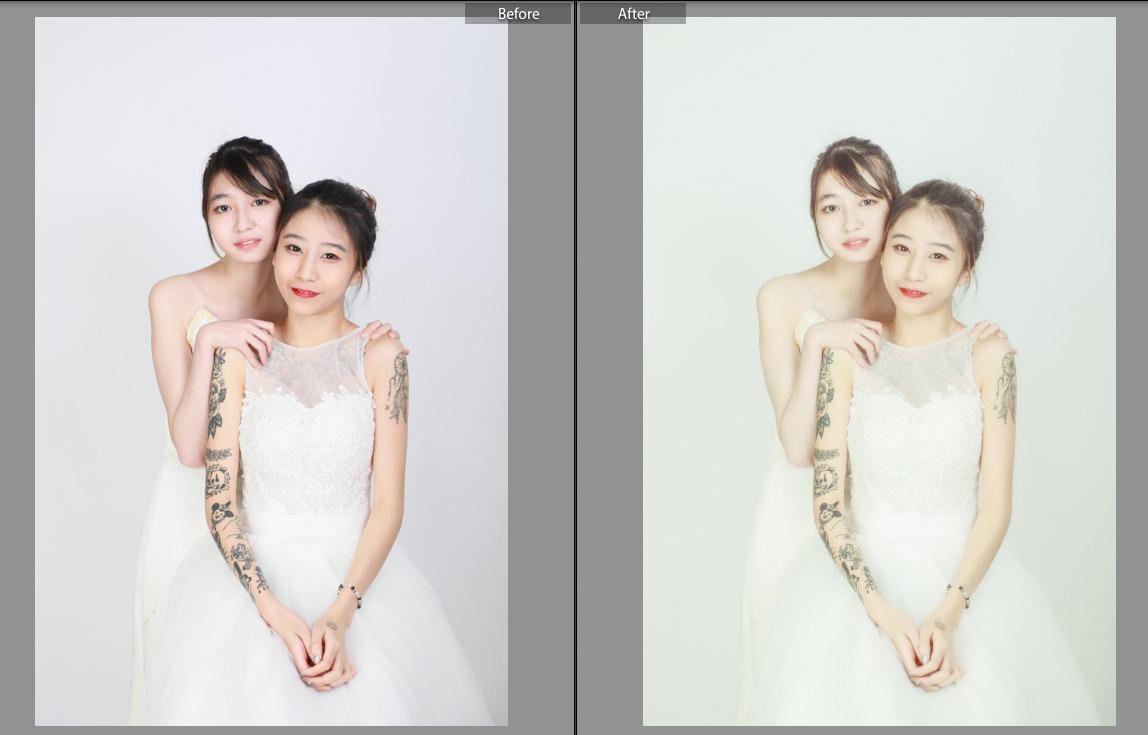 閏密相 before & after1c